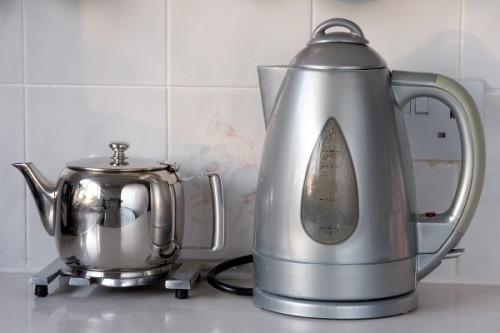 Чайники на кухне