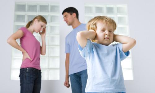 Ребёнок переживает развод родителей