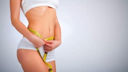 Измерение объема талии после похудения