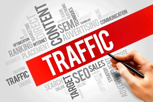 Надпись трафик красным цветом по английски