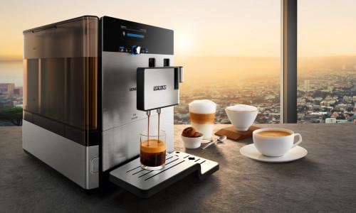 Кофемашина Siemens варит вкусный кофе