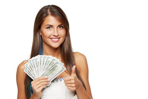 Девушка и тысяча долларов