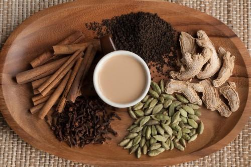 Чай Масала и его ингредиенты