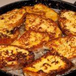Как приготовить гренки из батона на сковороде с яйцом и молоком: 5 лучших способов